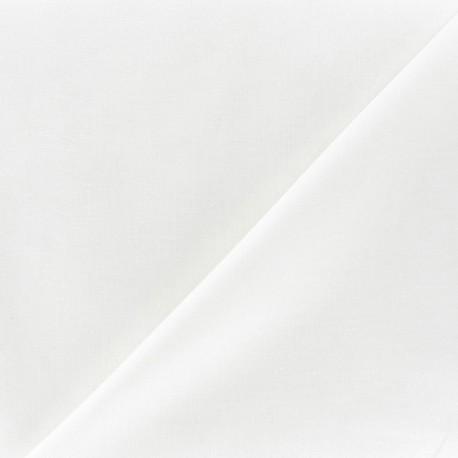 Tissu Voile de coton écru