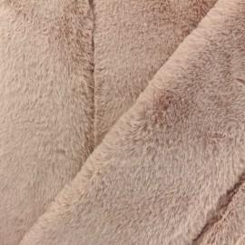 Tissu fourrure Tsar - rose x 10cm