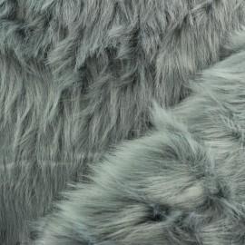Fourrure Deluxe - gris x 10cm