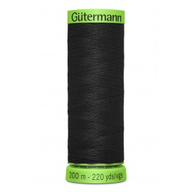 Extra Fine Sewing Thread Gutermann 200m - Black