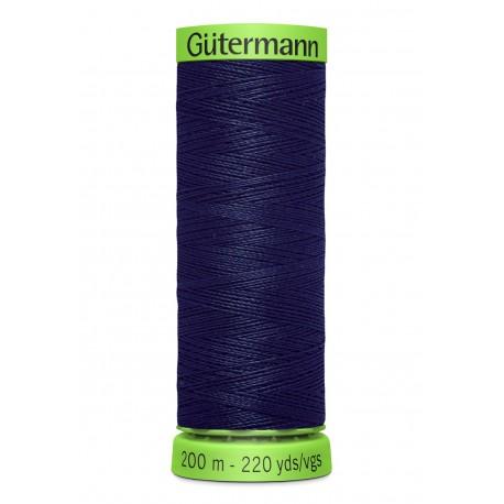 Extra Fine Sewing Thread Gutermann 200m - Navy