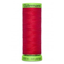 Extra Fine Sewing Thread Gutermann 200m - Red