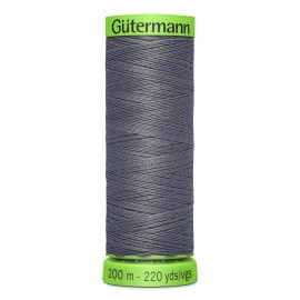 Extra Fine Sewing Thread Gutermann 200m - Dark Grey