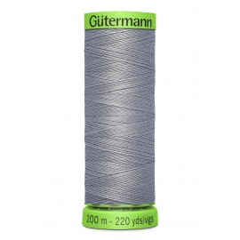 Extra Fine Sewing Thread Gutermann 200m - Light Grey