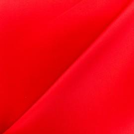 Plain neoprene fabric - red x 10cm