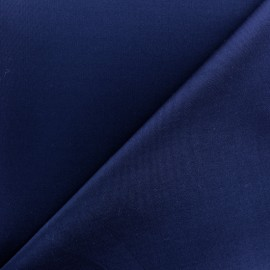Plain neoprene fabric - navy blue x 10cm