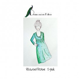 Dress Sewing pattern - Dessine moi un patron Sybil