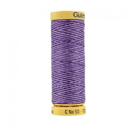 Bobine de Fil à Coudre Multicolour Gutermann 100m - Violet