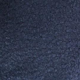 Astrakhan Fur fabric - navy Artik x 10cm