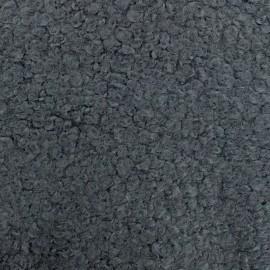 Tissu fourrure Astrakan Artik - gris x 10cm