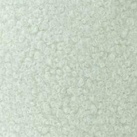Astrakhan Fur fabric - white Artik x 10cm