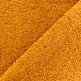 Tissu fourrure Astrakan Lahore - jaune x 10cm