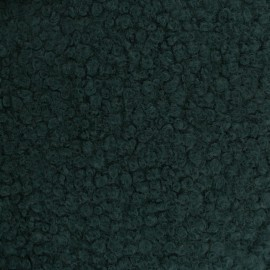 Astrakhan Fur fabric - pine green Artik x 10cm