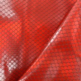Simili cuir Ariel - Rouge  x 10cm