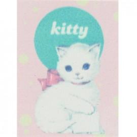"""Étiquette adhésive Rétro """"Kitty"""""""