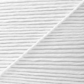 Mèche Ganse pour Passepoil 3 mm - Blanc  x 1m