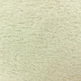 Astrakhan Fur fabric - Black Lahore x 10cm