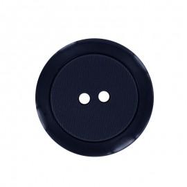 40 mm Polyester Button - Navy Baptiste