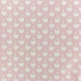 Tissu coton popeline Tipi - rose x 10cm
