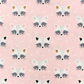Cotton Dashwood fabric Geo Forest - White Triangle x 10cm