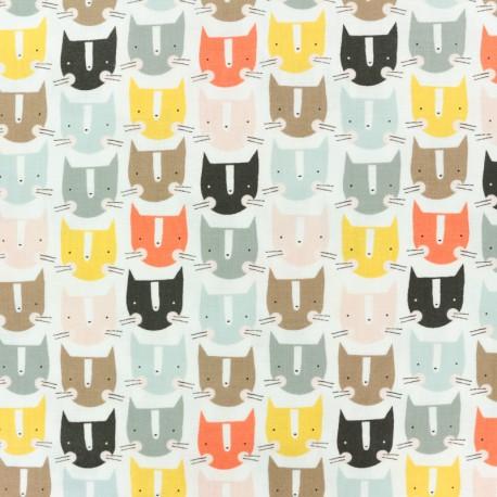 Tissu coton Dashwood Emi & the bird - multi x 10cm