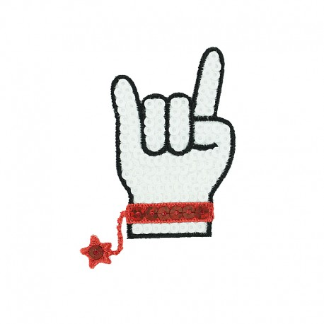 Iron-On Patch Teen Icon Collection - Rock