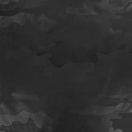 Tissu toile parachute Army - noir x 10cm