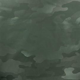 Tissu toile parachute Army - vert kaki x 10cm