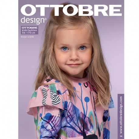 Ottobre Design Kids Sewing Pattern - 6/2018