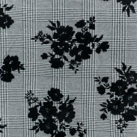 Tissu Gabardine Viscose Blair - Noir x 10cm