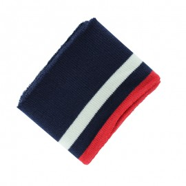 Organic Cotton Ribbing Cuffs (110x7cm) - Navy College