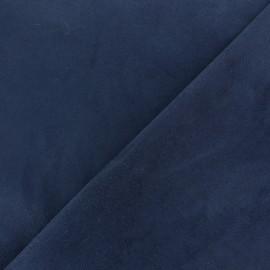 Tissu Scuba Néoprène Suédine - bleu marine x 10cm