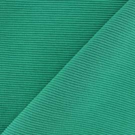 Tissu jersey 500 raies - vert x 10cm