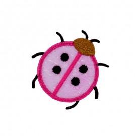 Faune Irisée Iron-On Patch - Ladybug