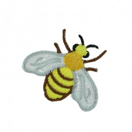 Faune Irisée Iron-On Patch - Bee