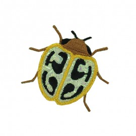 Faune Irisée Iron-On Patch - Beetle