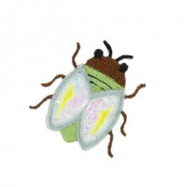 Faune Irisée Iron-On Patch - Cicada