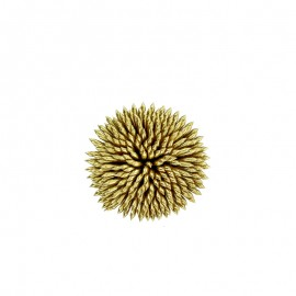 Sew on Floral Ornament - Gold