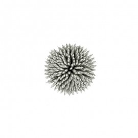 Ornement Floral à Coudre - Argent