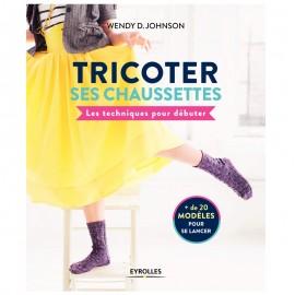 """Livre """"Tricoter ses chaussettes - Les techniques pour débuter"""""""