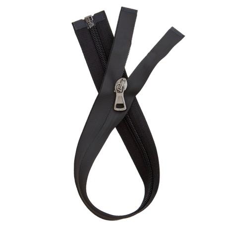 Waterproof Open-End Zipper - Black