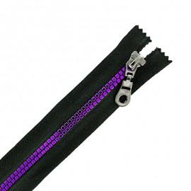 Fermeture Eclair® Séparable Moulée Disco - Noir/Violet