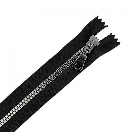 Fermeture Eclair® Non Séparable Moulée Disco - Noir/Gris