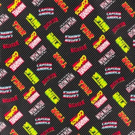 Camelot Cotton fabric - Super hero logo x 10cm