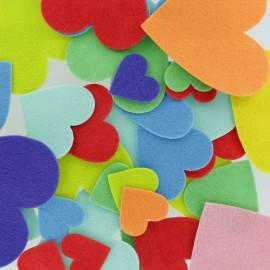 Formes en Feutrine (150 pièces) - Coeur