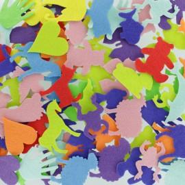 Formes en Feutrine (150 pièces) - Animaux & Objets