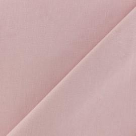 Tissu Coton uni - ballerine x 10cm