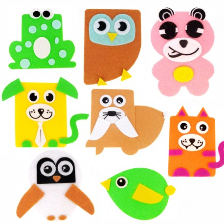 Create Your Own Felt Mascot Kit