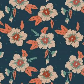 Tissu coton AGF Autumn Nectar Mist - vert x 10cm