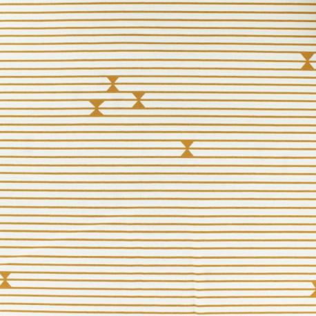 Tissu coton AGF Gran Piano - écru x 10cm